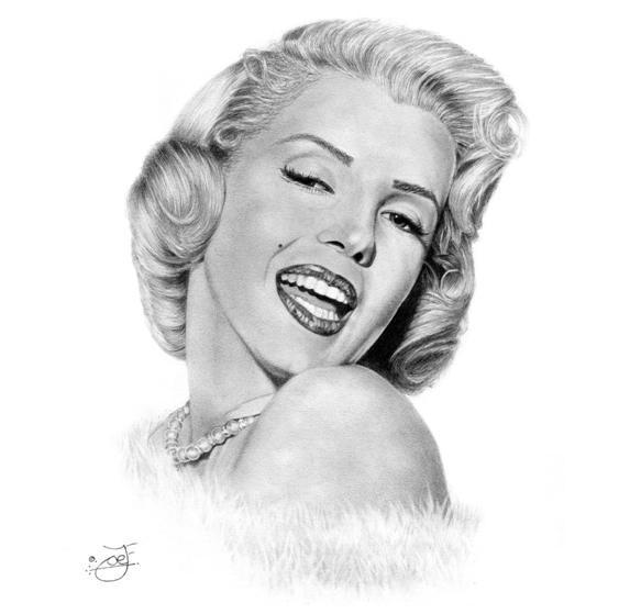 Marilyn Monroe by JoeJose